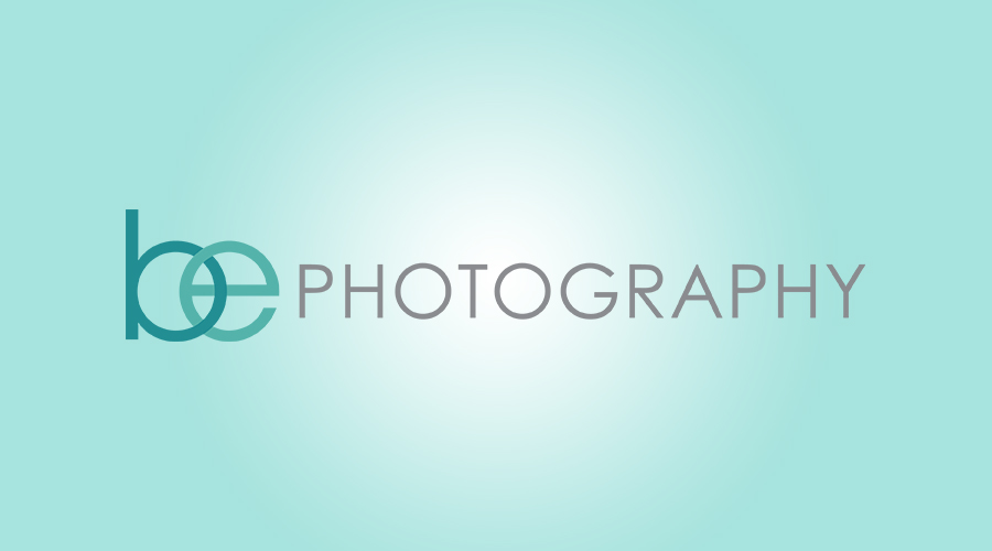 "When Becca, of   BE Photography  , came to me she was just starting up her photography business. It was important to her that her branding reflected her personality. She wanted a logo that was very modern, clean and professional looking. The simplicity of the design and interlocking the ""b"" and the ""e"" just gave it the right touch."