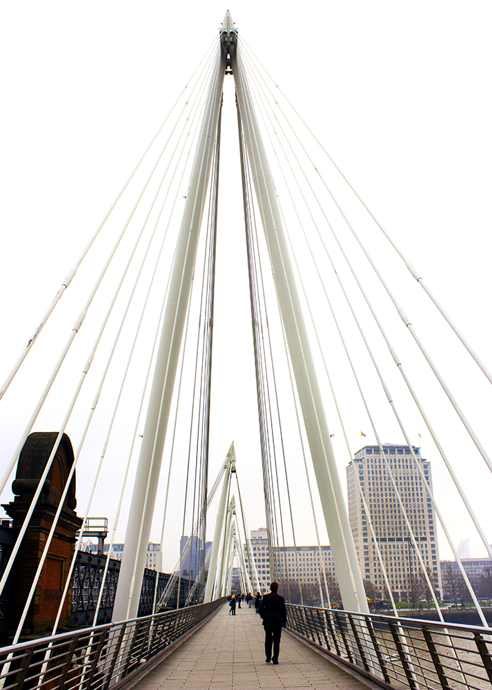 PHOTOGRAPHY  :: London ::  Golden Jubilee Bridge