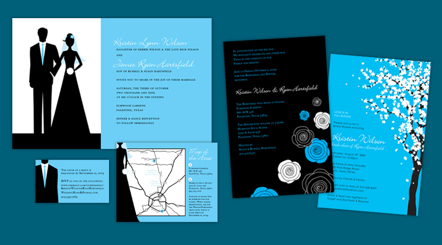 BOY MEETS GIRL  :: Invitations + Shower Invitations