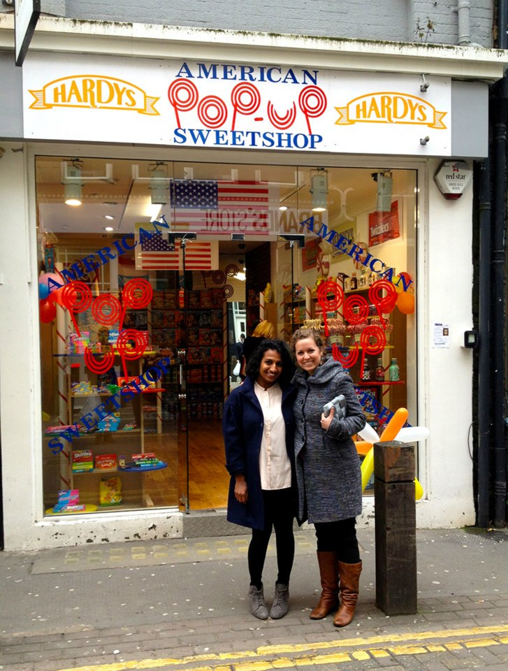 An American Sweet Shop - far and few between