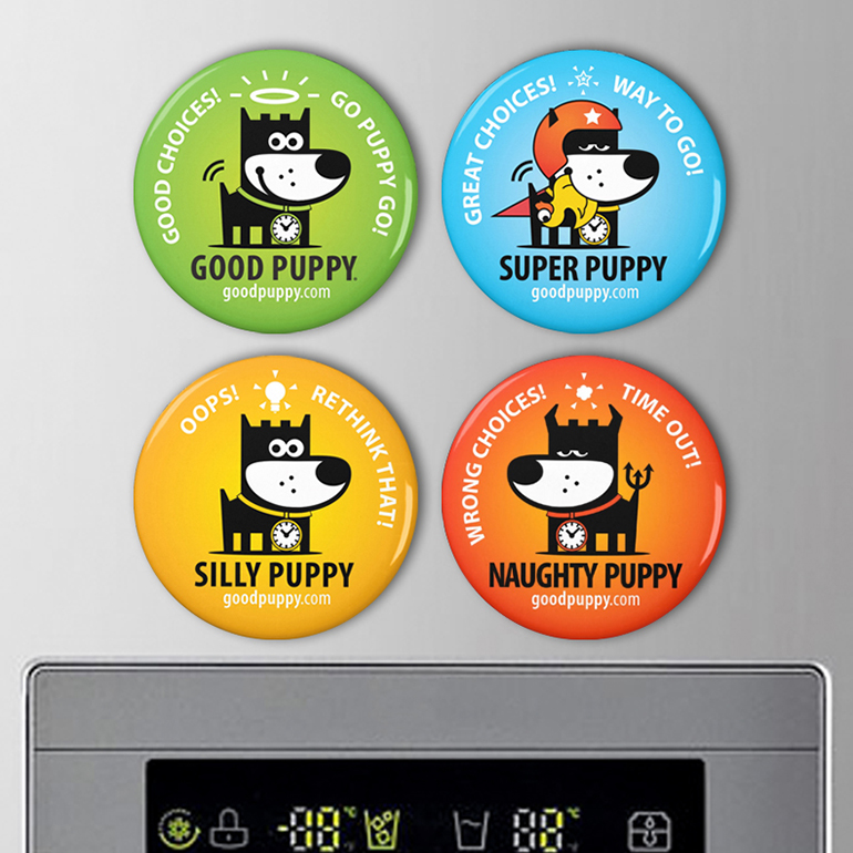 GOOD PUPPY® CBS MAGNETS