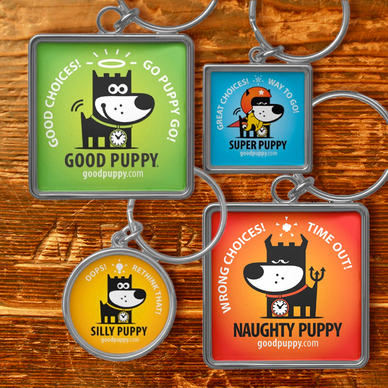 GOOD PUPPY® CBS KEYCHAINS