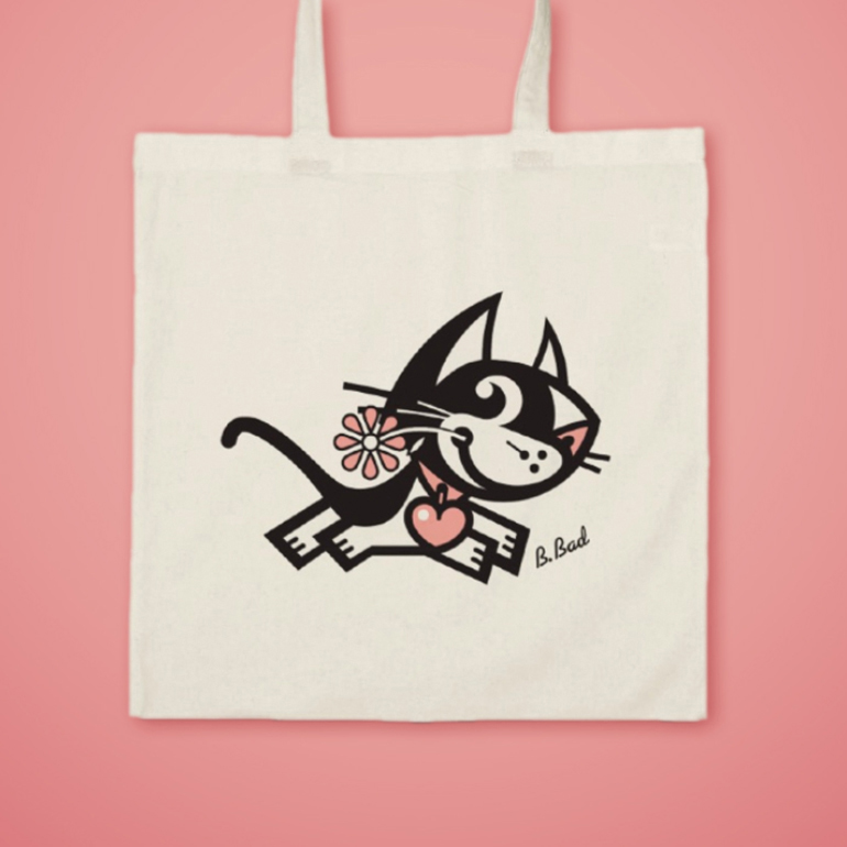 BETTY BAD KITTY FOR GOOD PUPPY® VINTAGE CANVAS BAGS
