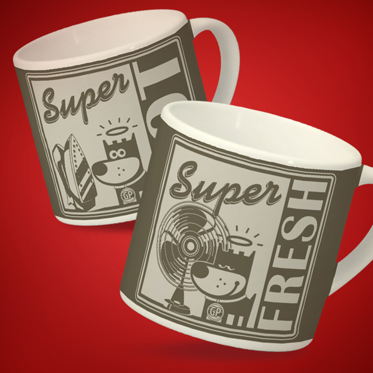GOOD PUPPY® VINTAGE ESPRESSO CUPS