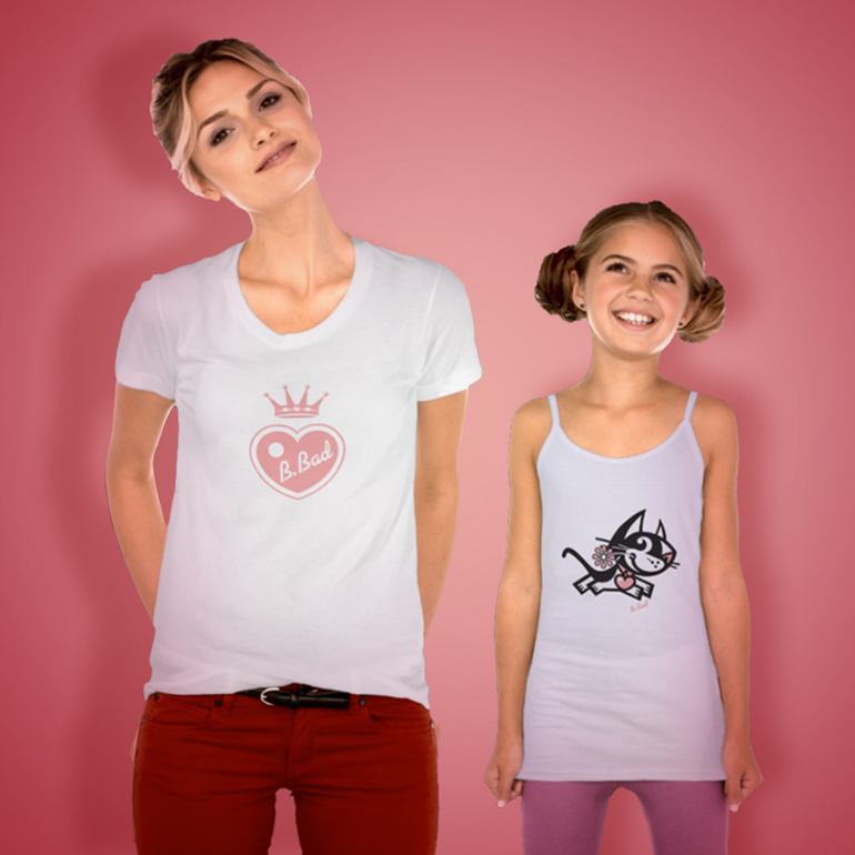 BETTY BAD KITTY FOR GOOD PUPPY® VINTAGE TEES