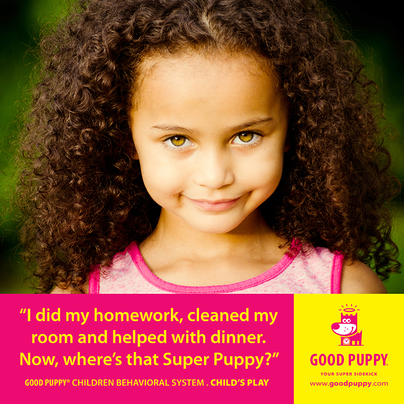 Good Puppy Children Behavioral Tools