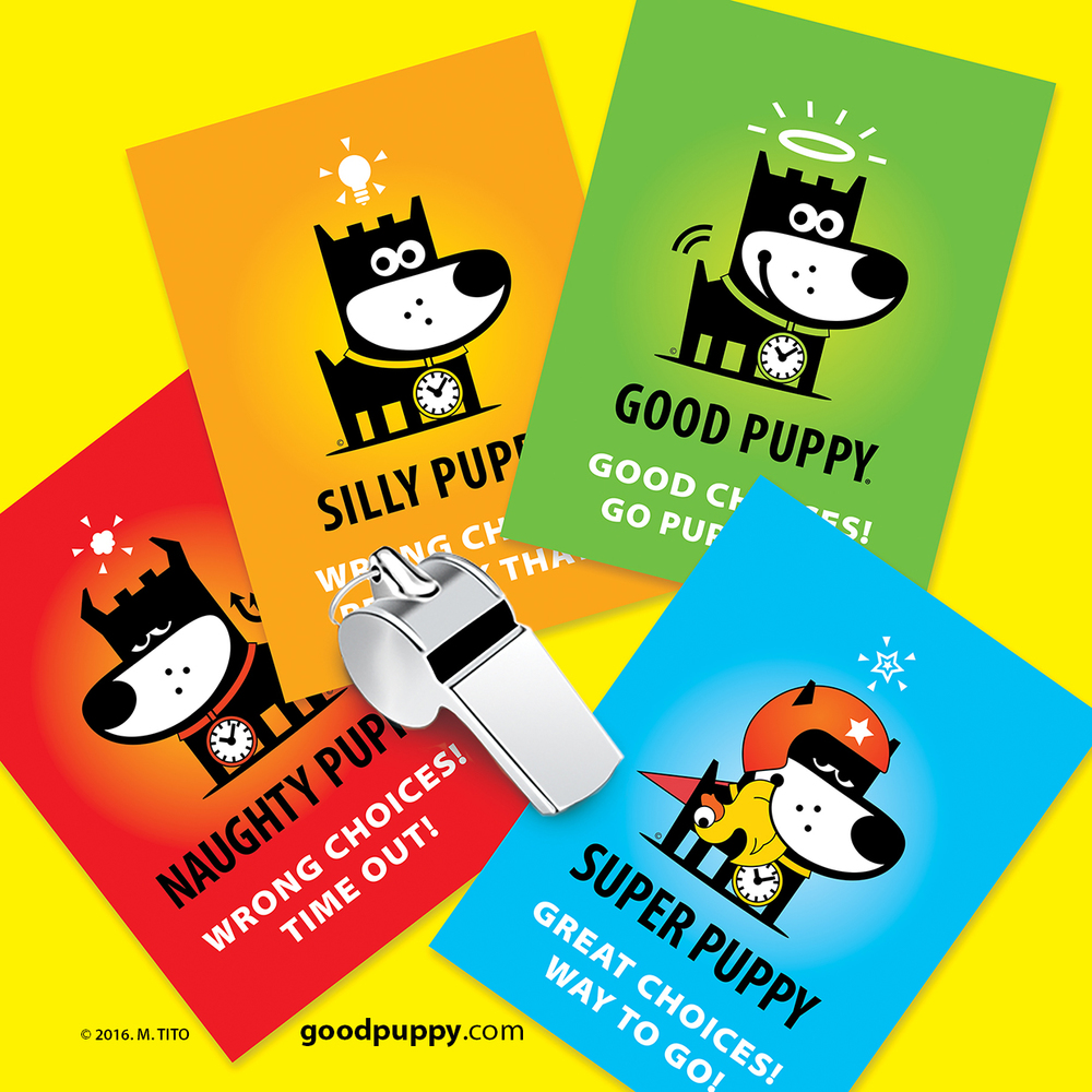 GOOD PUPPY Children Behavioral Referee Cards