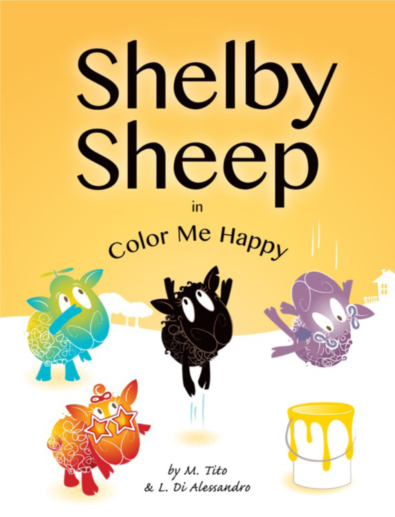SHELBY SHEEP: INCOLOR ME HAPPY