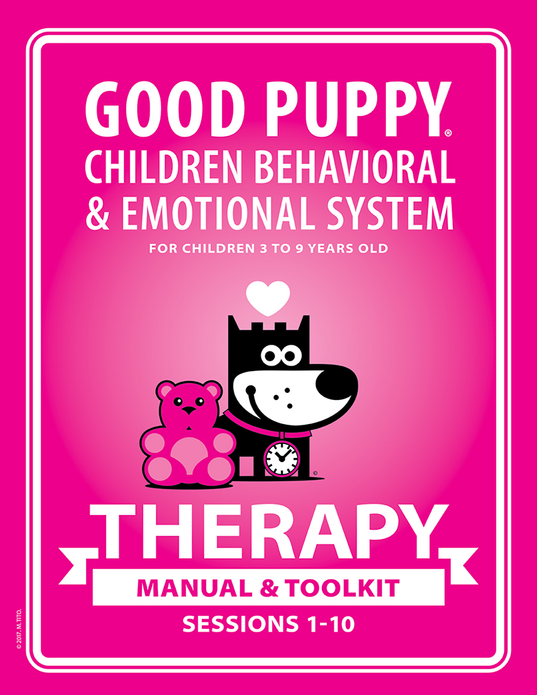 GOOD PUPPY . THERAPY MANUAL & TOOLKIT . Softcover