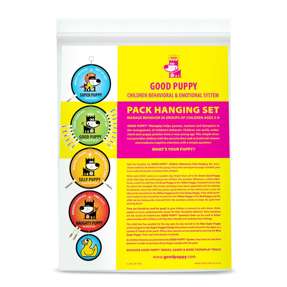 GOOD PUPPY Children Behavioral & Emotional System . Pack Hanging set