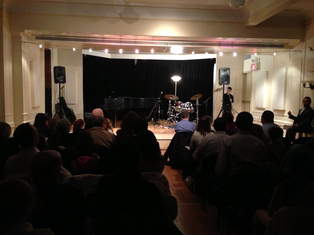 Recital at the Brooklyn Conservatory, 2015