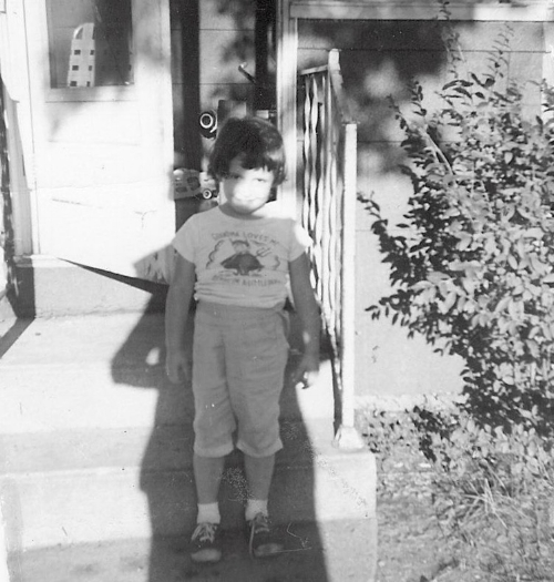 Rockin' the Devil T-Shirt & Red Ball tennies in Mishawaka, IN.  Where it all began...