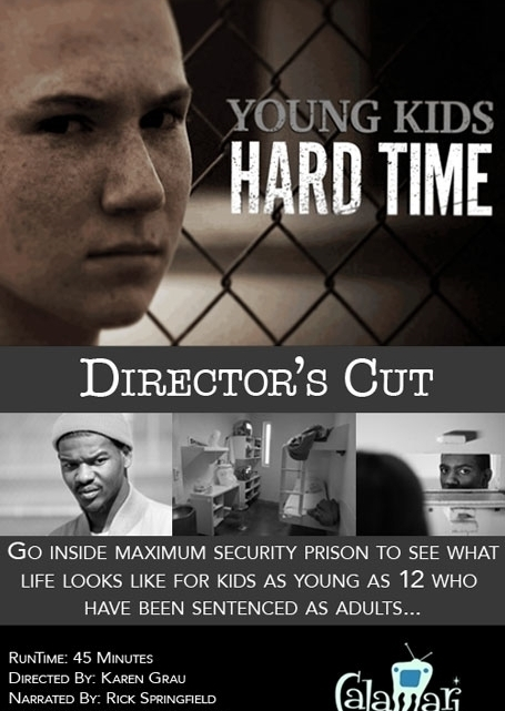 """Young Kids, Hard Time,"" a documentary watched by millions on MSNBC, continues to be used in classrooms and advocacy settings around the globe today.  Coming soon, an update on the kids featured in this extraordinary series, which also led to passage of new laws regarding juveniles sentenced as adults."