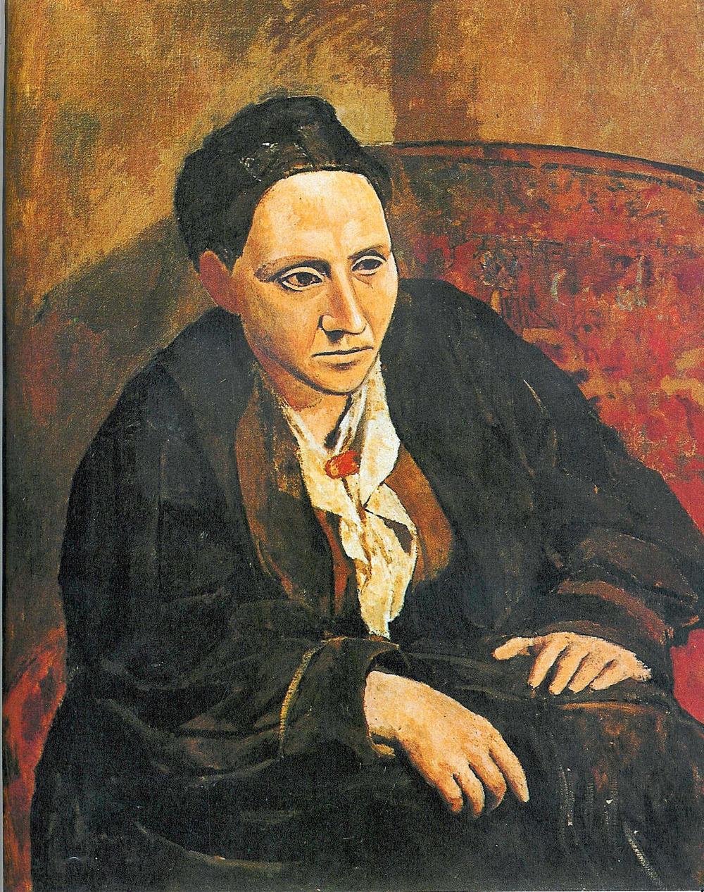 Gertrude Stein, by Pablo Picasso, 1906
