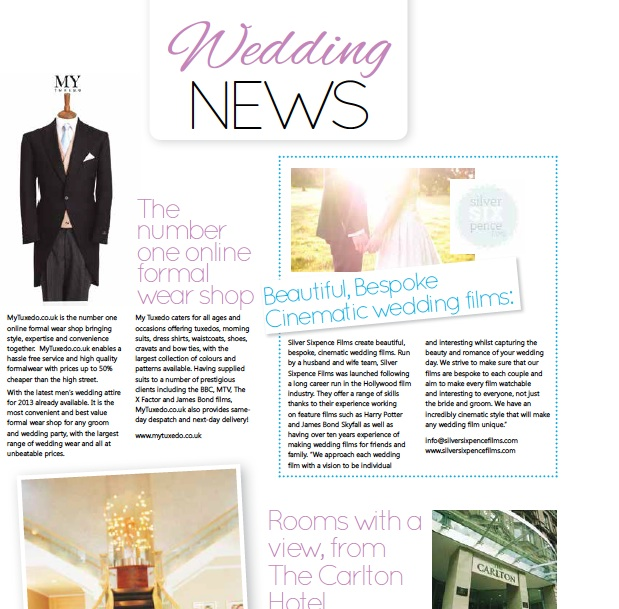 Northern Bride Magazine - Winter 2013
