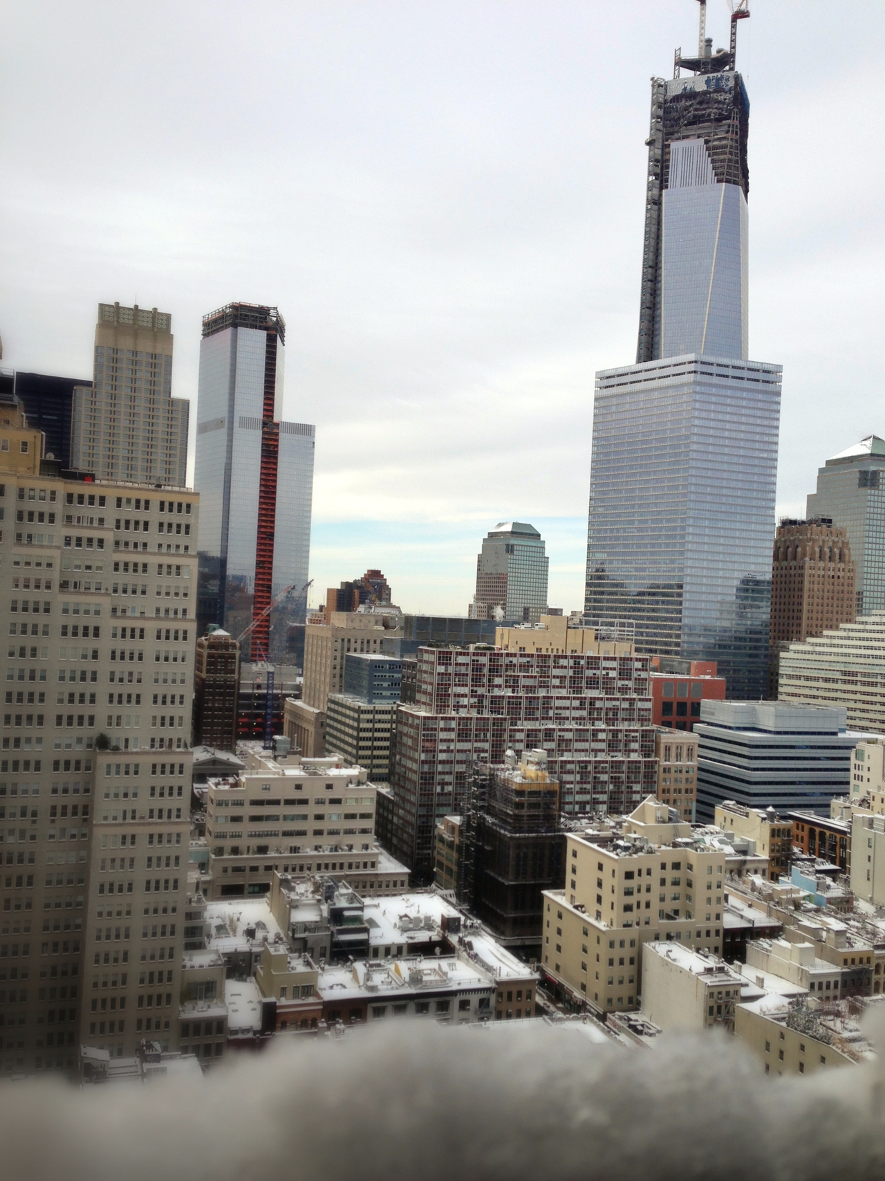 Good morning WTC after nemo