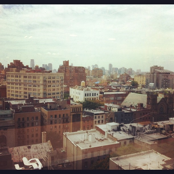 Moved to the 10th floor - loving my new view!! (Taken with  Instagram  at Google New York)