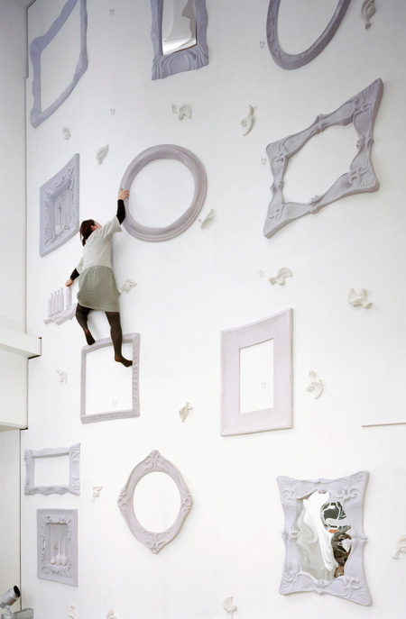 "Stylish way to ""rock climb"" or better wall climb"