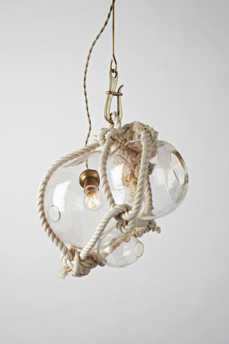 KNOTTY BUBBLES BY LINDSEY ADELMAN  Love the handcraft and design of each of them.