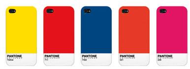 Beautiful  Case Scenario's Pantone cases for Iphone 4 and Ipad
