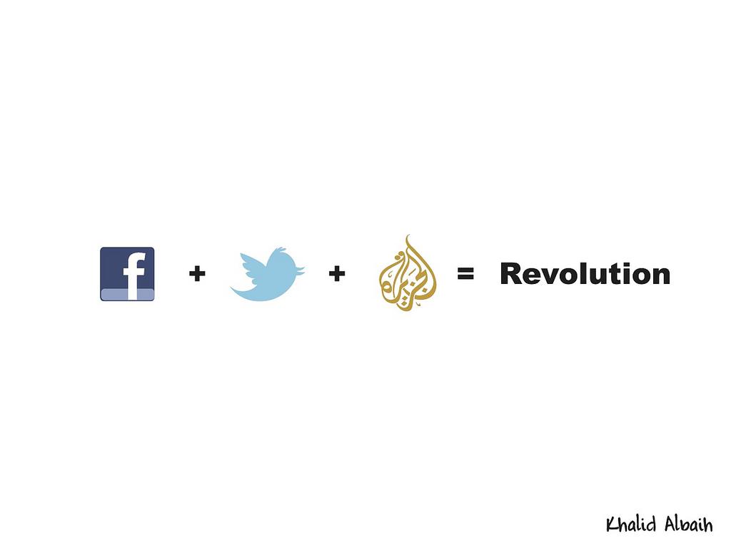 bilalr :       Designer khalid Albaih put together this cool graphic.