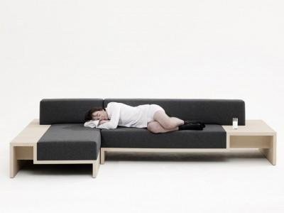Slow sofa design