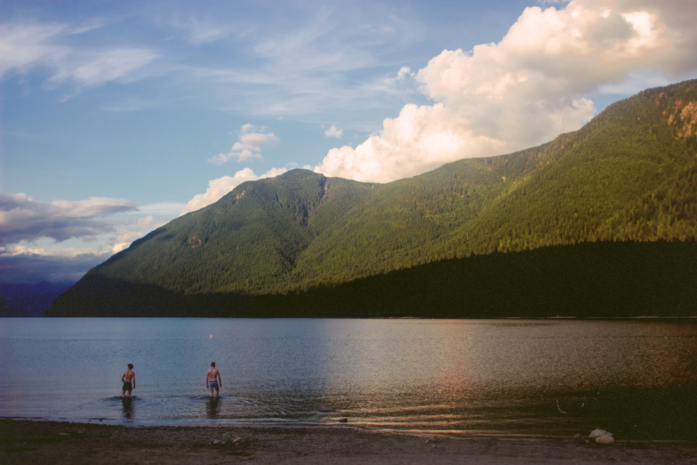 Alouette Lake, BC, Canada, August 2014