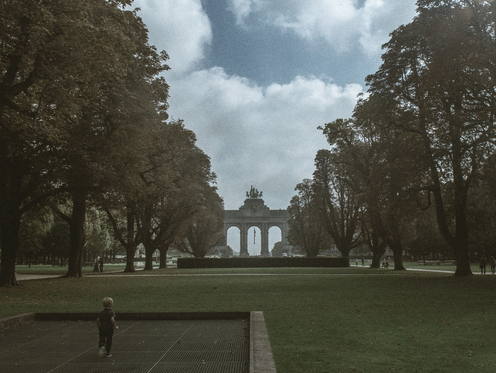 Arc du Cinquantenaire, Brussels, Belgium, September 2014
