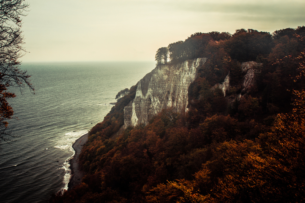 Königgstuhl, Jasmund National Park, Rügen Island, Germany, October 2014