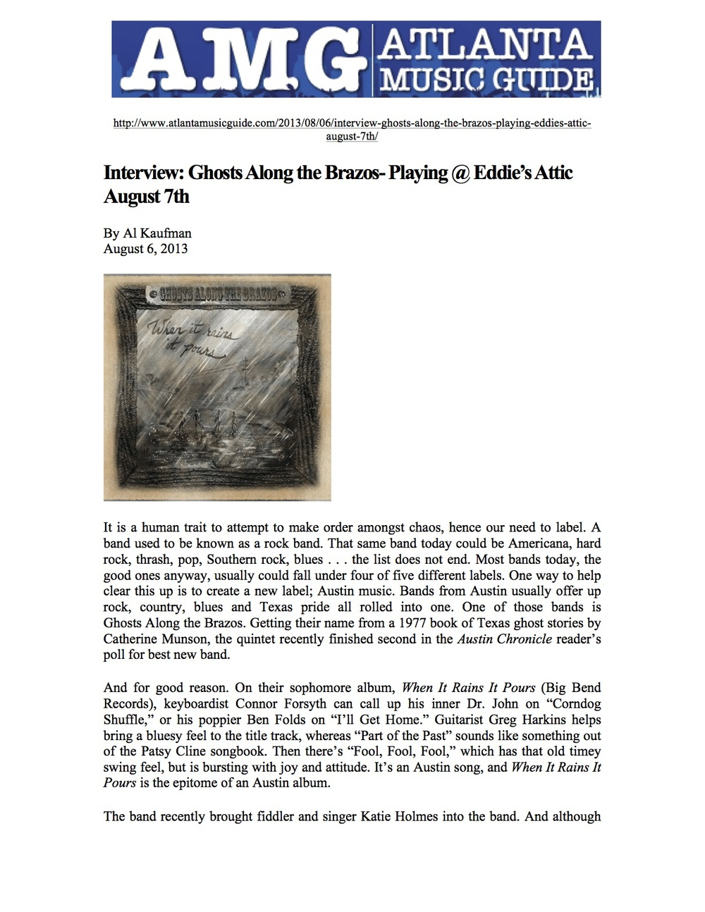 Big Bend Records_Ghosts Along the Brazos_Atlanta Music Guide_August 6, 2013 jpeg.jpg