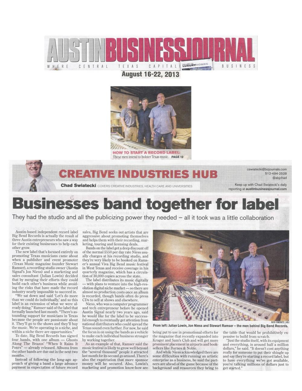 Big Bend Records_Austin Business Journal_August 16, 2013 jpeg.jpg
