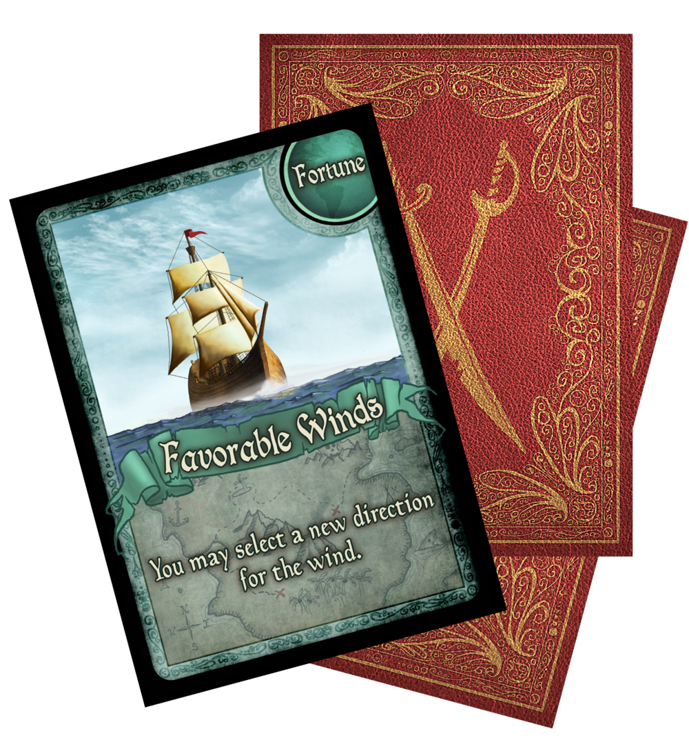 32 Bounty Cards, which create exciting events and opportunities for players. These cards often involve all players at the table, resulting in zero downtime for players waiting for their next turn.
