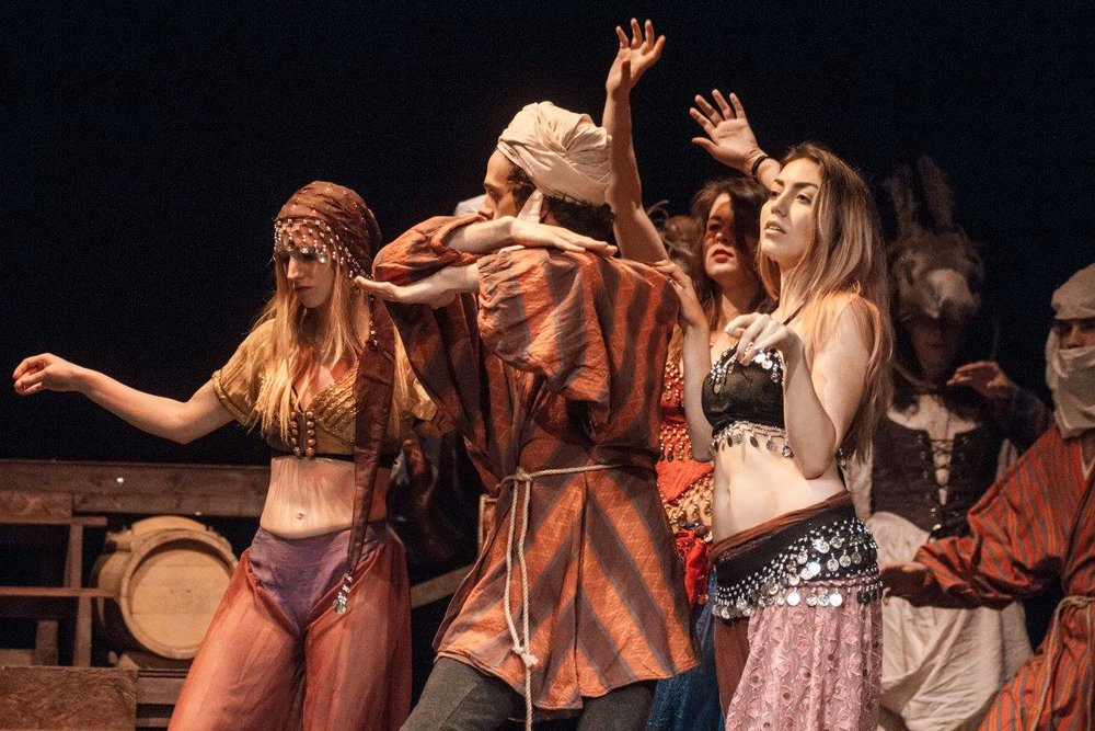 Gypsy Dancers in Man of La Mancha, Prague