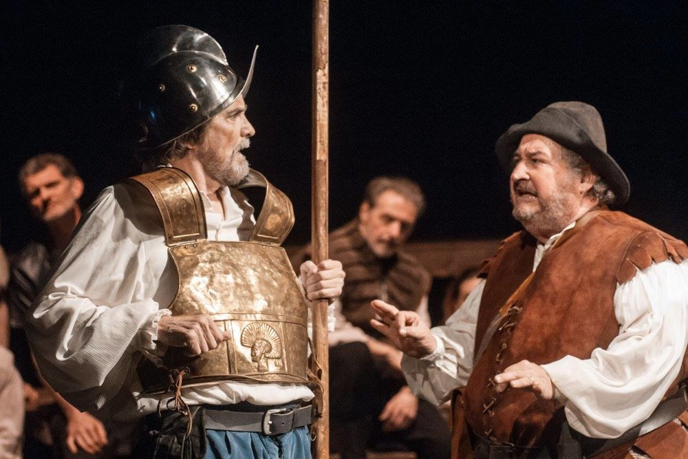 Lane Davies & Jerry Winsett in Man of La Mancha