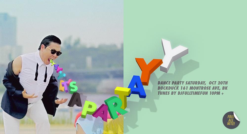 PARTAY FLYER