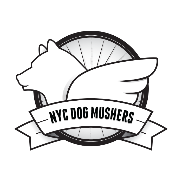 Logo: NYC Dog Mushers