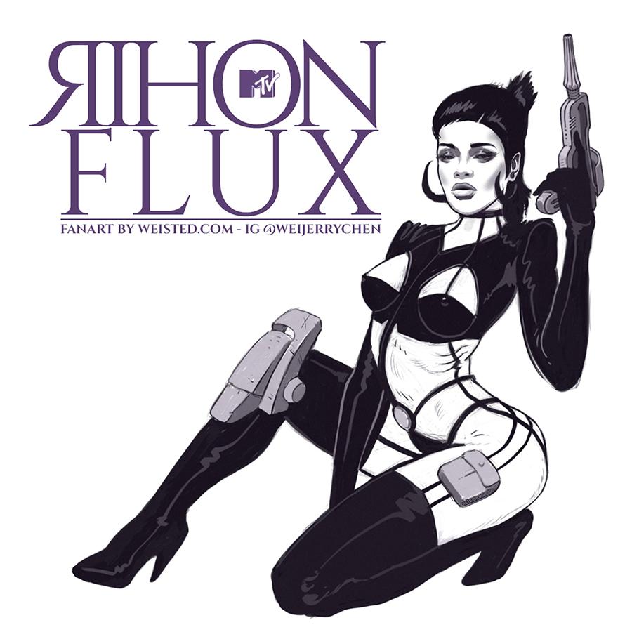 Rihon Flux [ #fanart x #wcw x #tbt ]