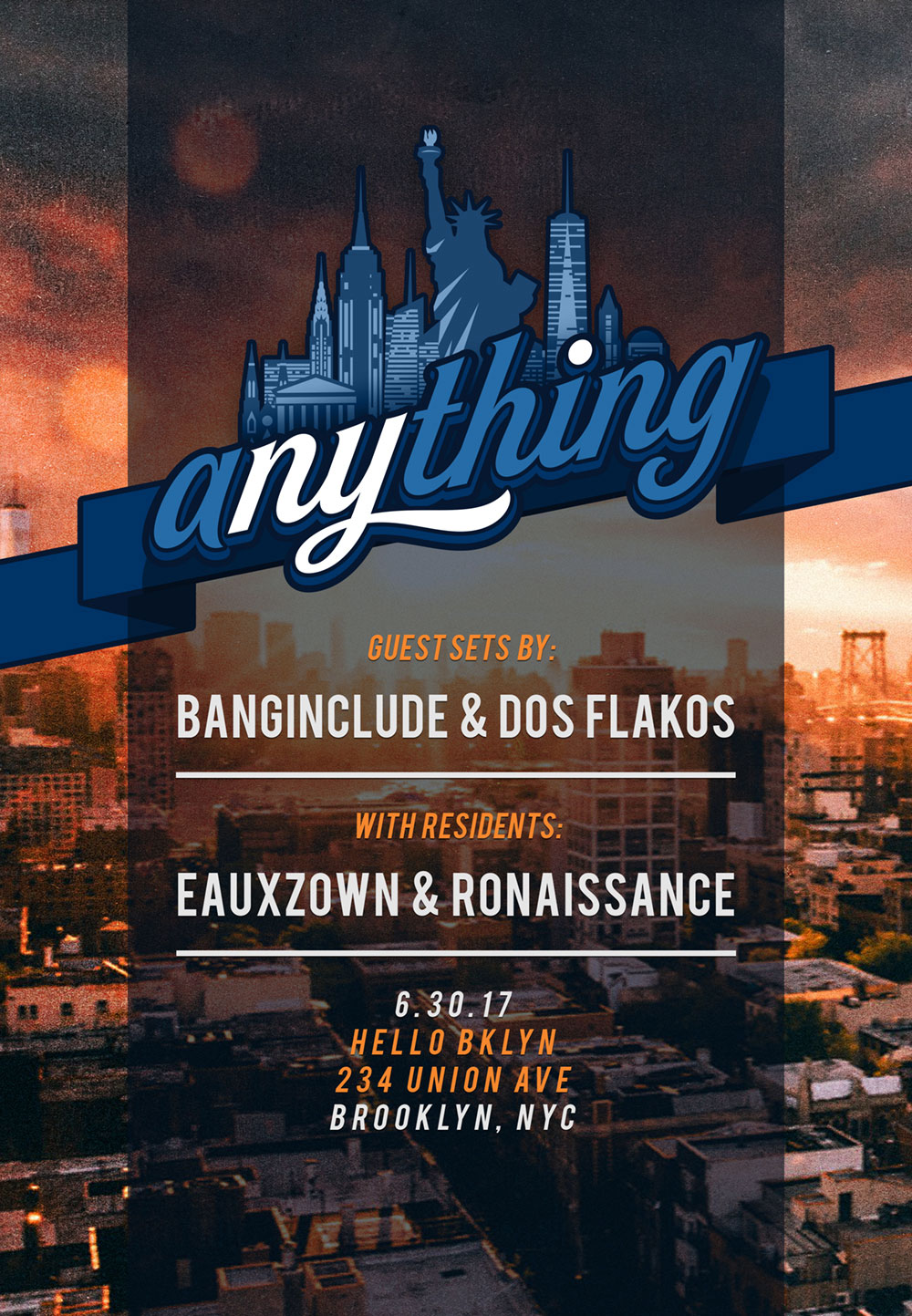 Flyer for Anything