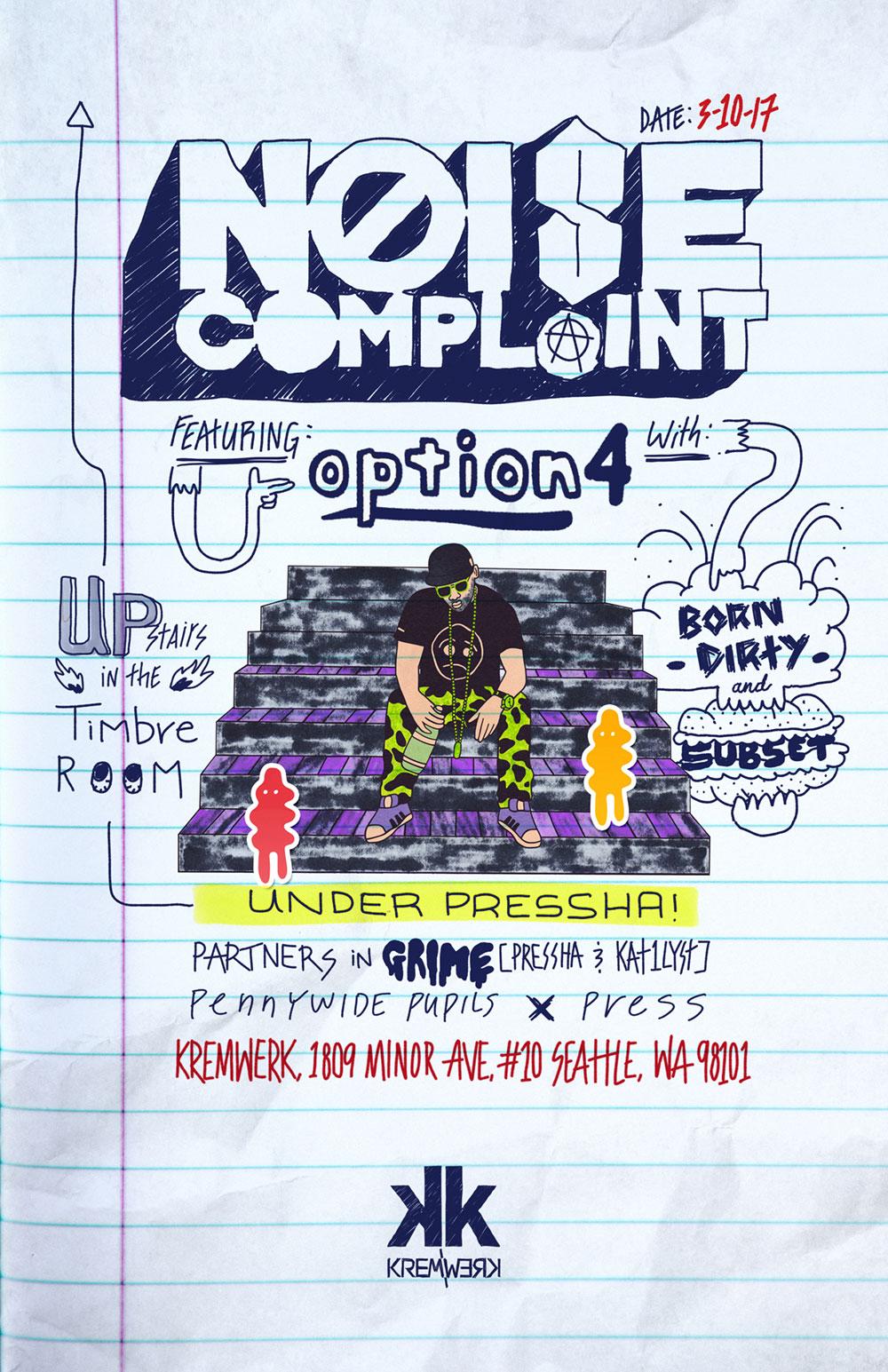 Flyer for Noise Complaint