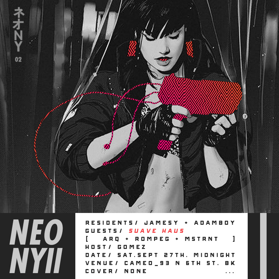 Flyer design for NEO NY #2