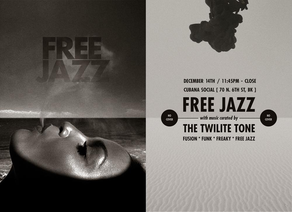 FREE JAZZ FLYER