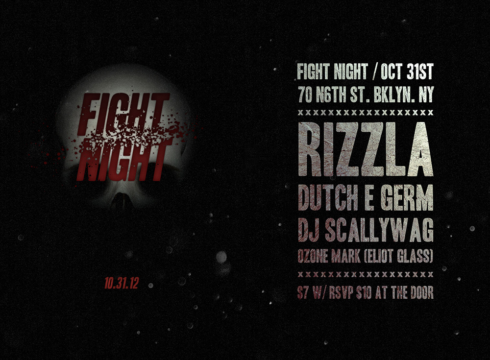 FIGHT NIGHT FLYER