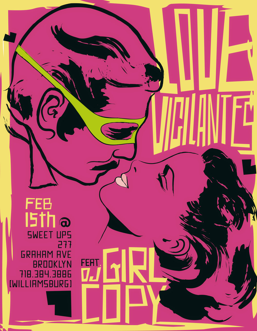 LOVE VIGILANTES FLYER