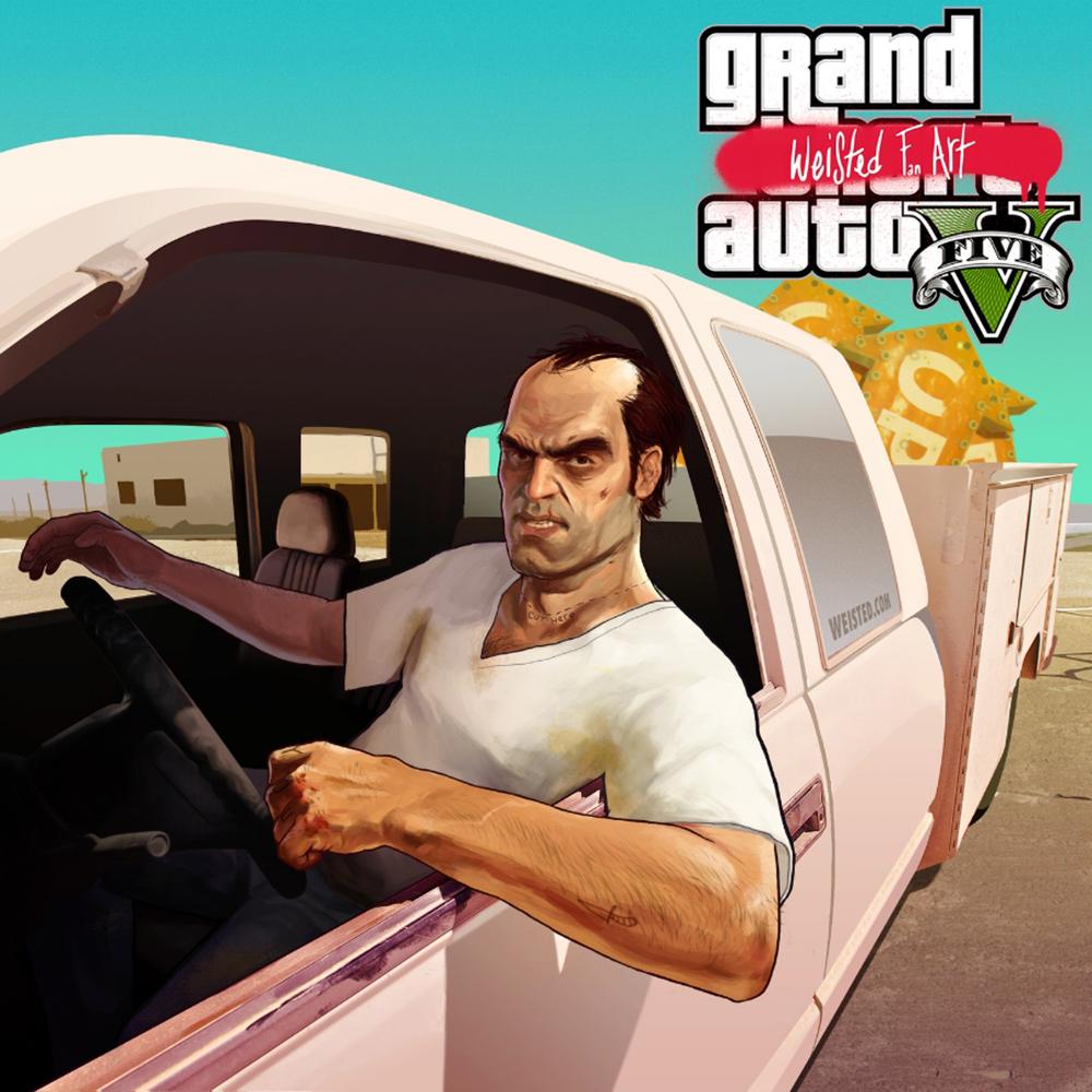 Trevor GTA5 Fanart #2