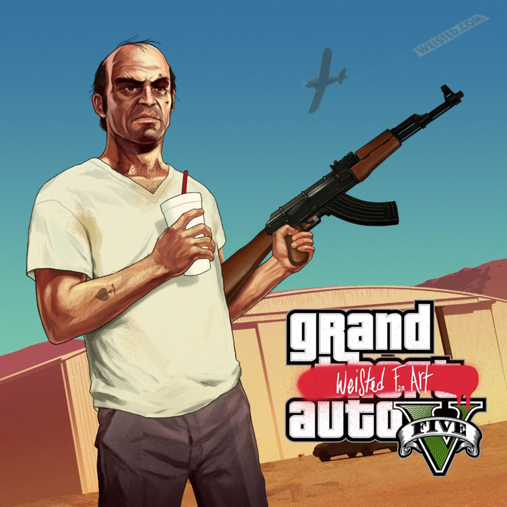 GTA5: TREVOR FAN ART #1