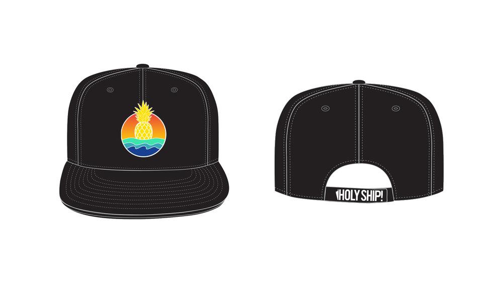 5-PINEAPPLE-SUNRISE-001-HOLY-SHIP-HAT-DESIGN-WEIJERRYCHEN.jpg