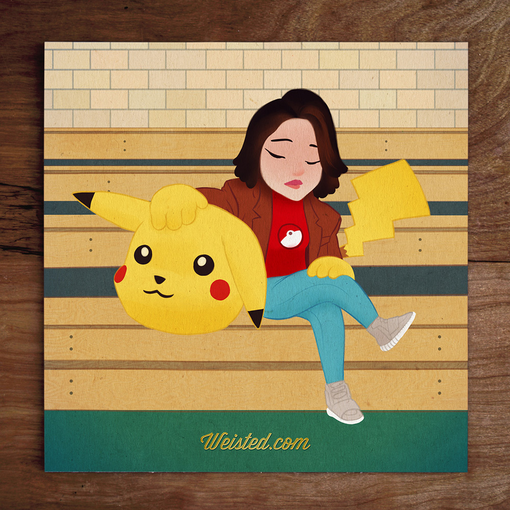 Model No.19 @DjLilyVanilli The Pokemon Dropout