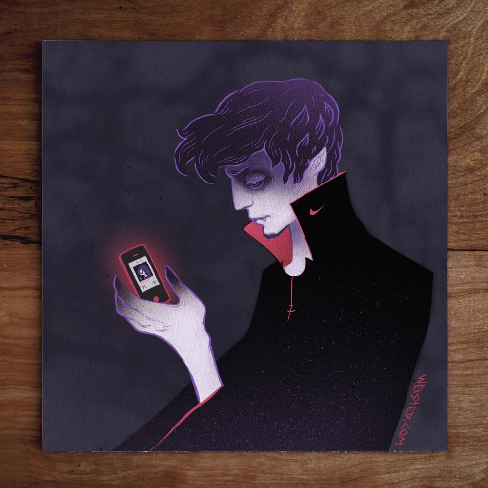 No. 5 Model: @jrbianchi the #foreveralone vampire