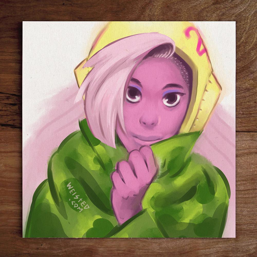 FB Sketches #3: @DeeChanelle Cupcake Tank Girl