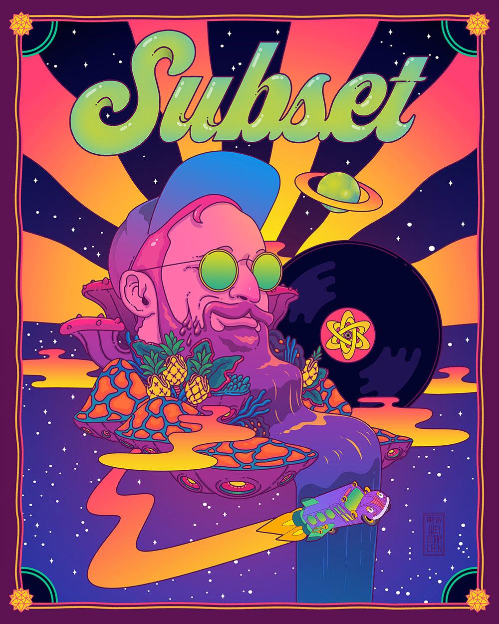 Poster illustration for  @SubsetGetsIt